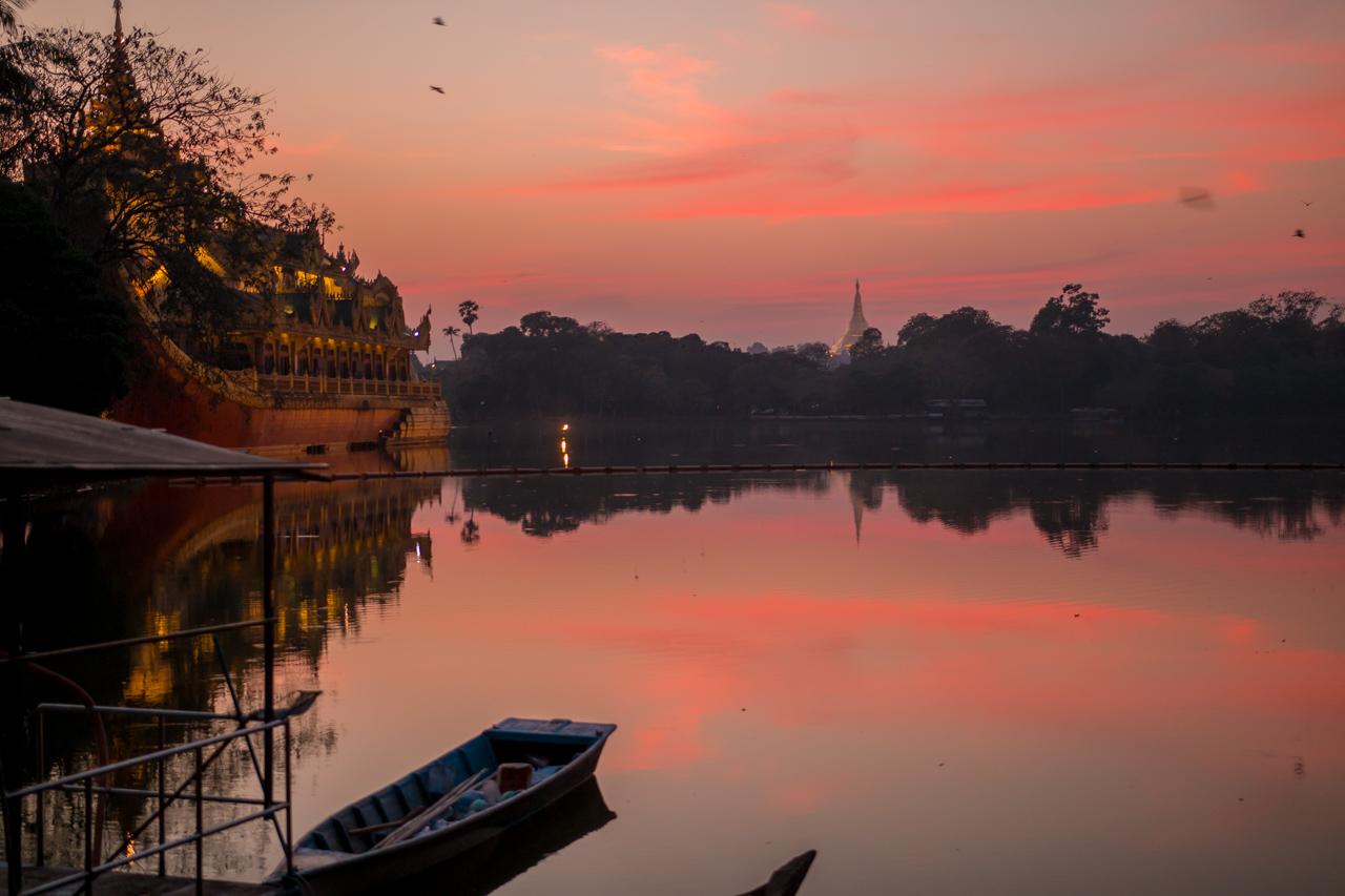 lac Kandawgyi, yangon