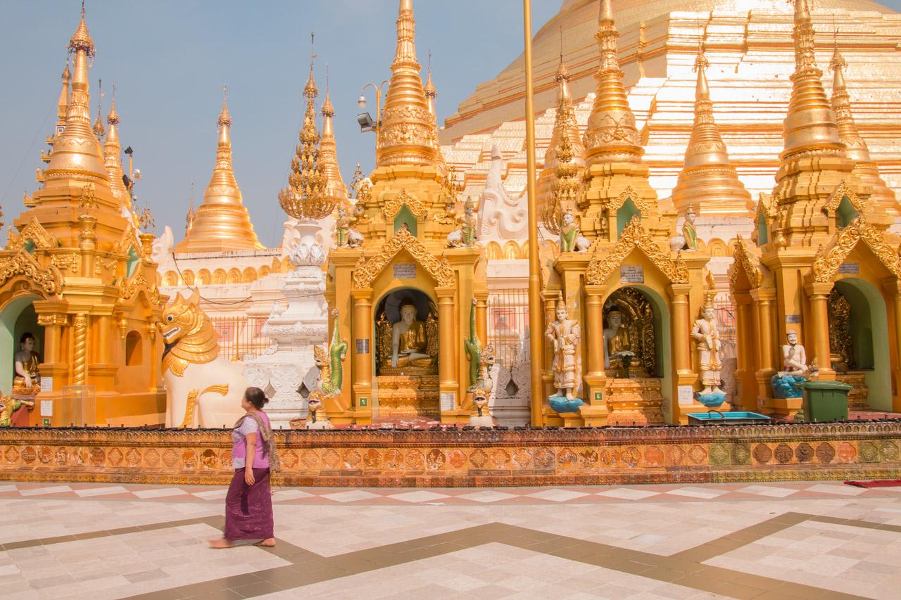 yangon, myanmar, shwedagon