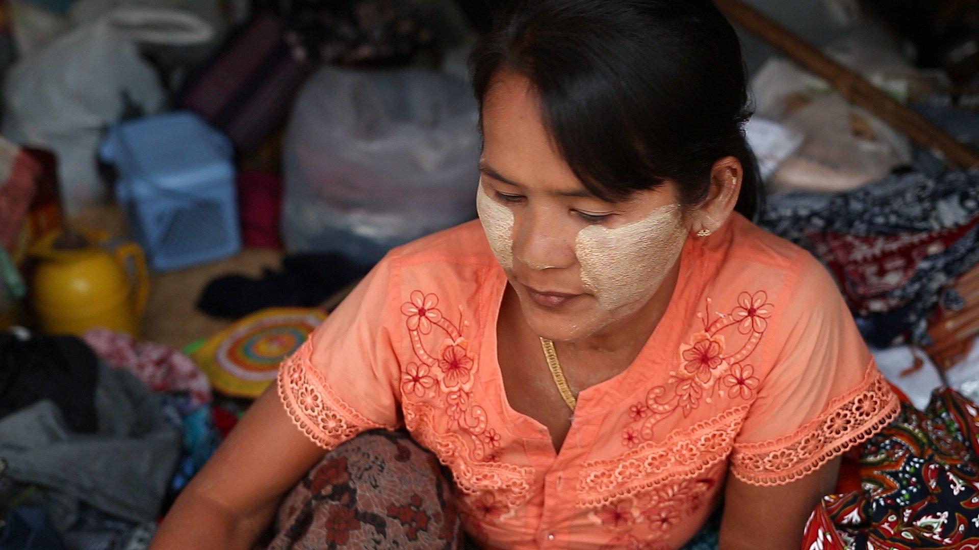 birmanie, myanmar, thanaka