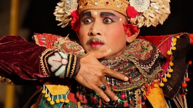 Bali, danceur, Ubud, semara ratih