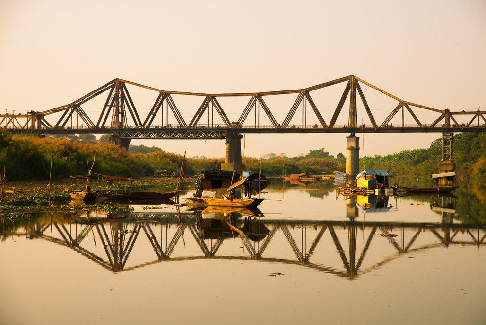 Pont Long Bien, Vietnam, Hanoi