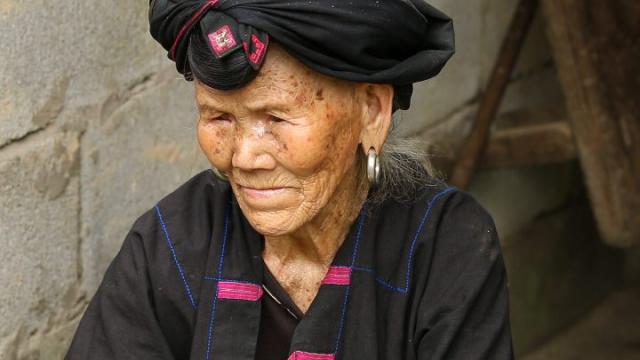 Tiantouzhai, ethnies, rizières de Longji, Guilin, Chine