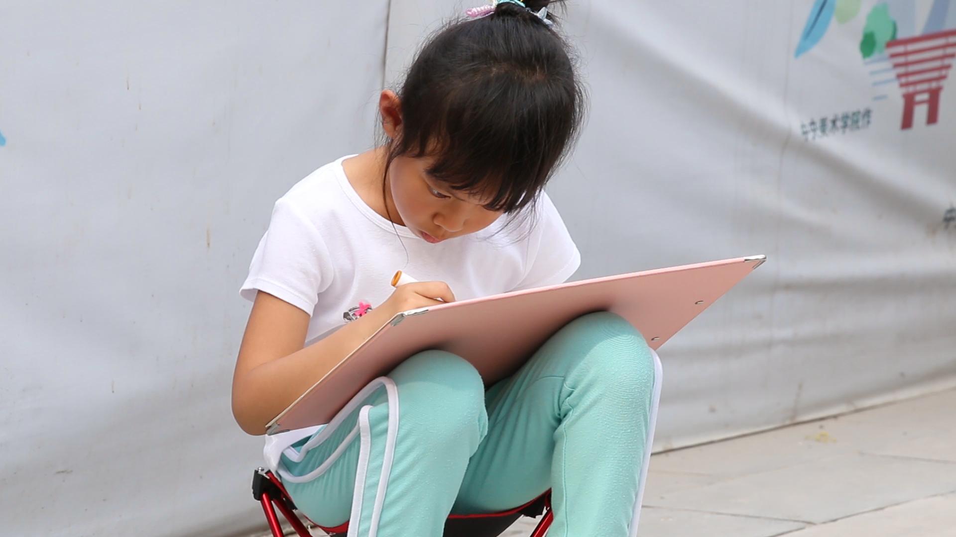 parc Beihai à Pékin, Chine, beijing, fille chinoise