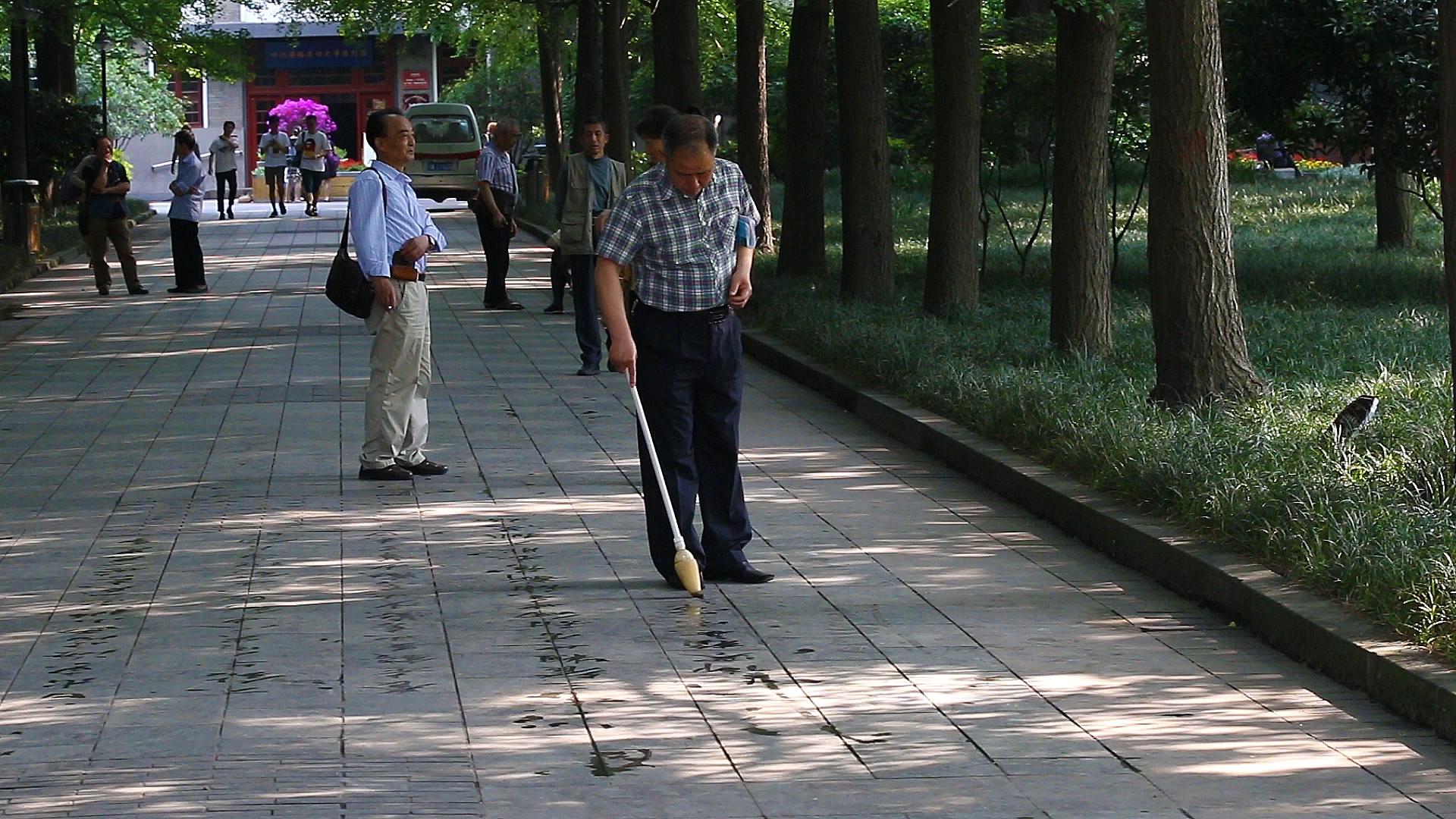 Chine, Sichuan, Chengdu, parc du peuple
