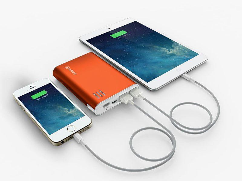batterie portable, voyage