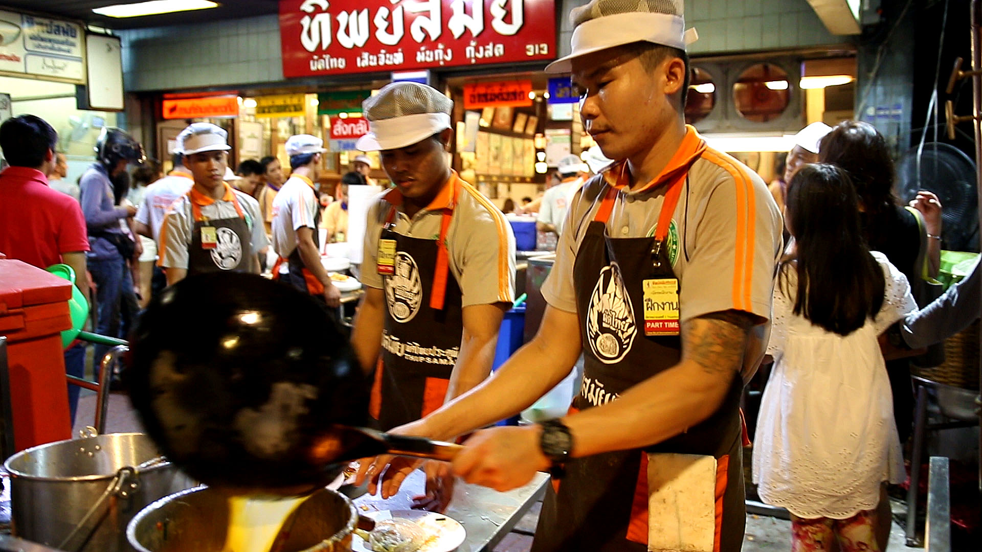 Thip Samai, Bangkok, cuisine de rue, pad thai