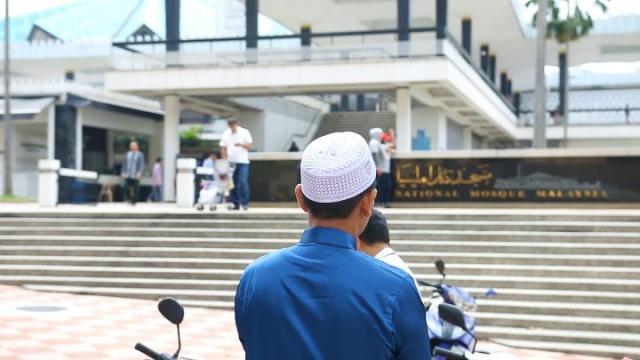 musulman, mosquée nationale de la Malaisie, Masjid Negara, Kuala Lumpur