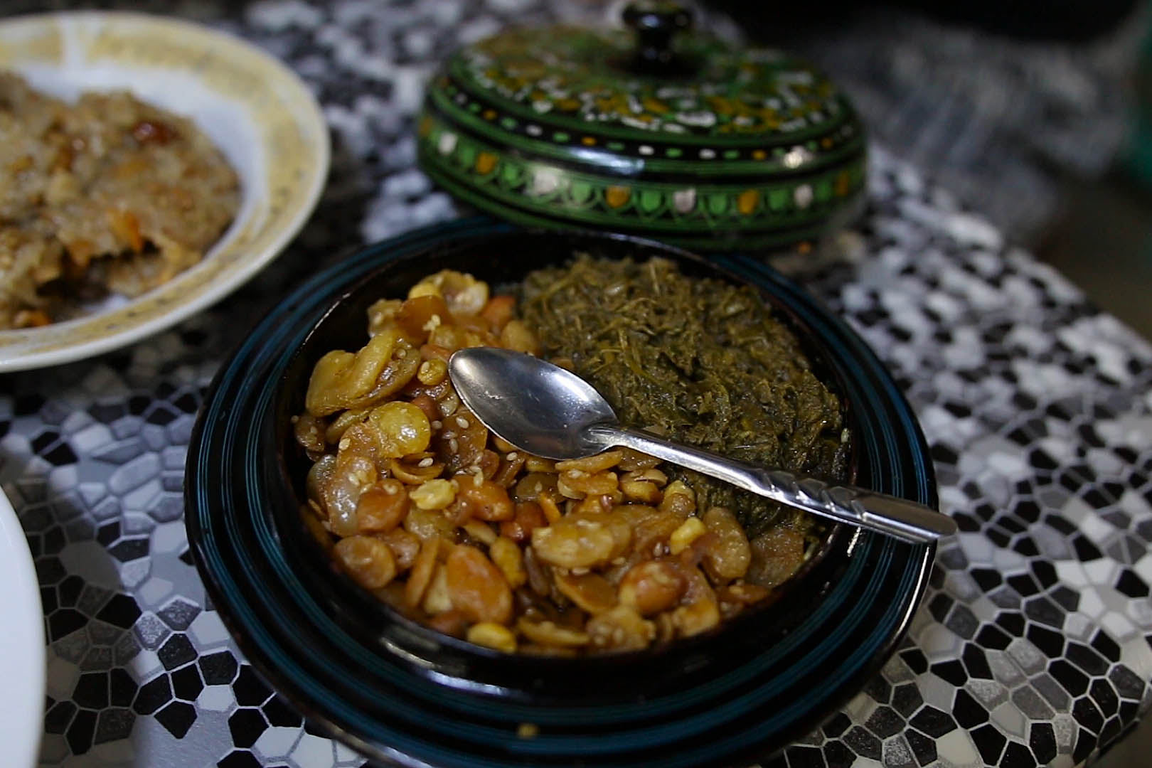 salade de thé birmanie, myanmar