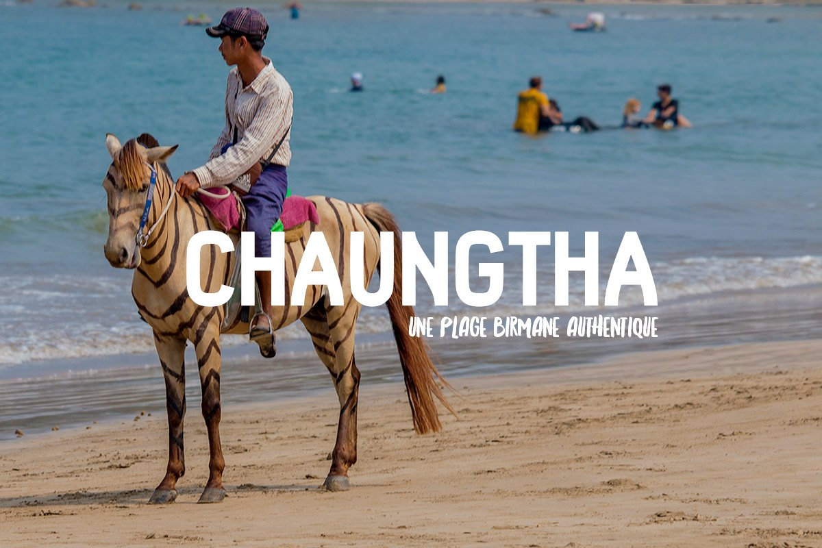 Chaunghta, birmanie, myanmar, plage