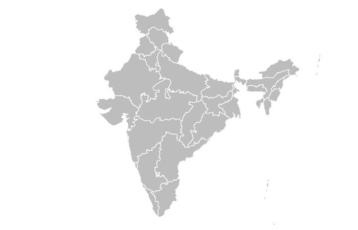 Map India - Lytchee
