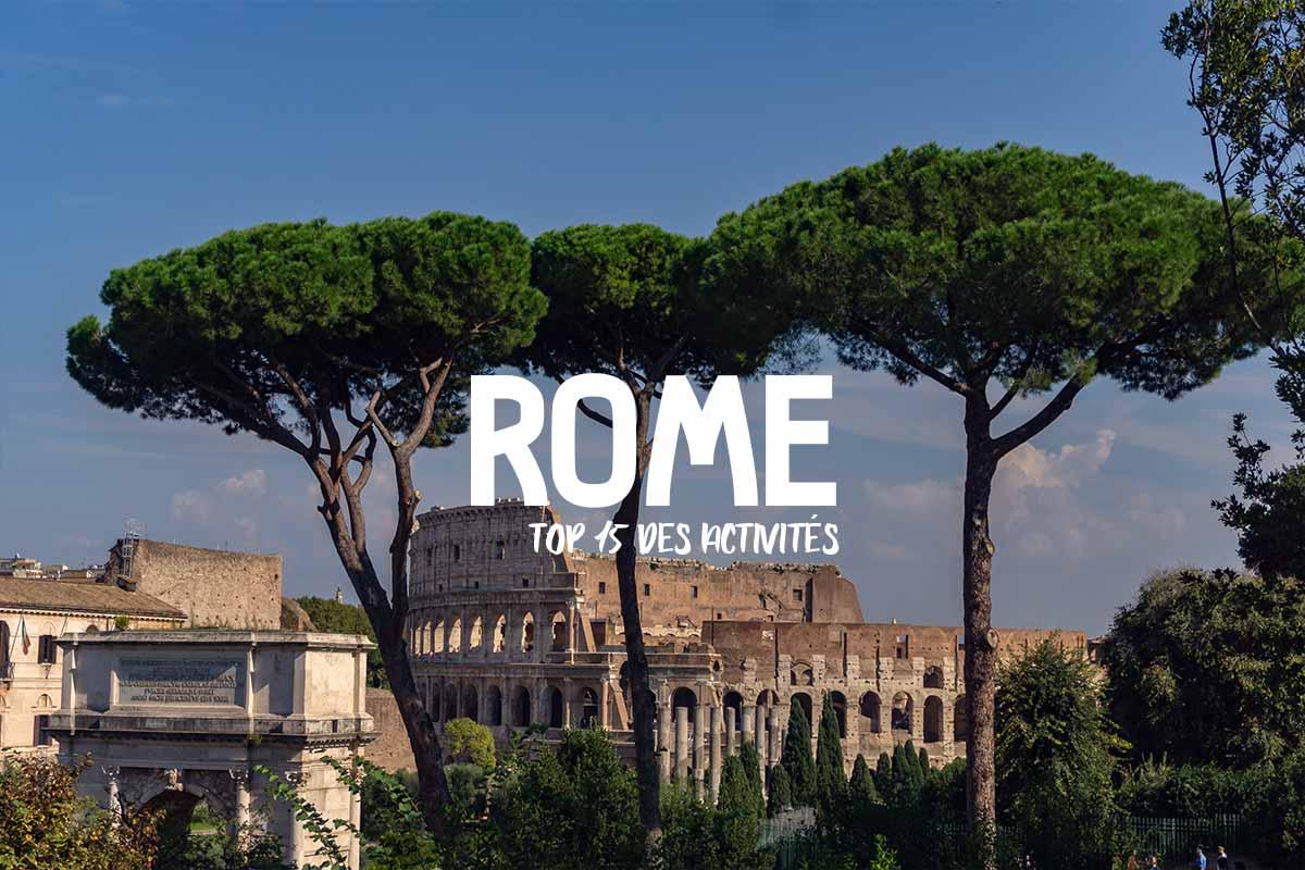 Rome: top 15 des activités
